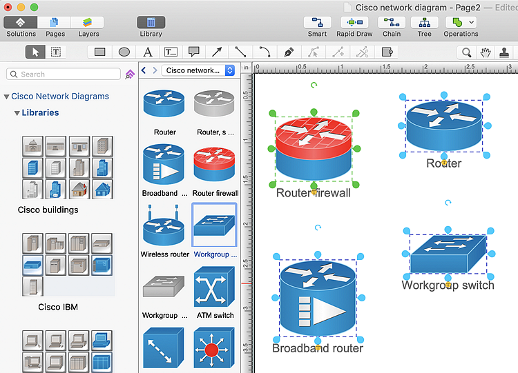 Creating A Cisco Network Diagram