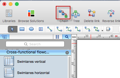 cross-functional-flowchar-connection-mode