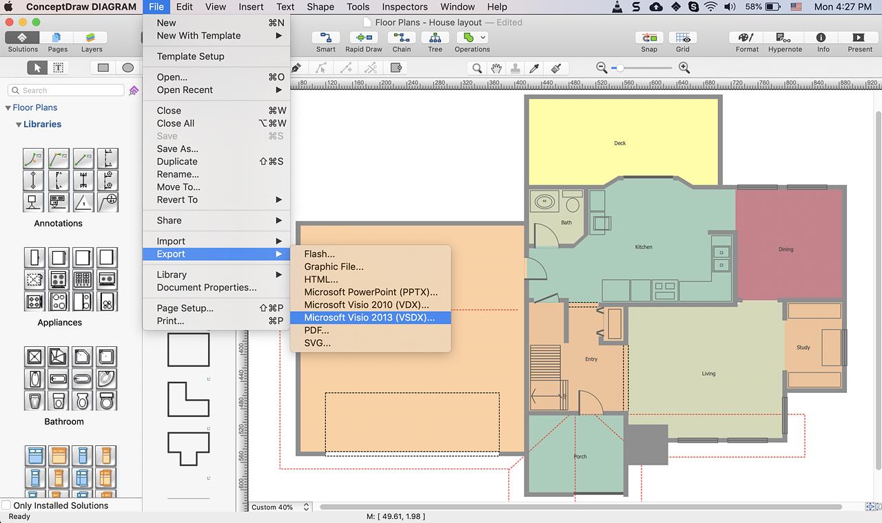 Create A Visio Floor Plan