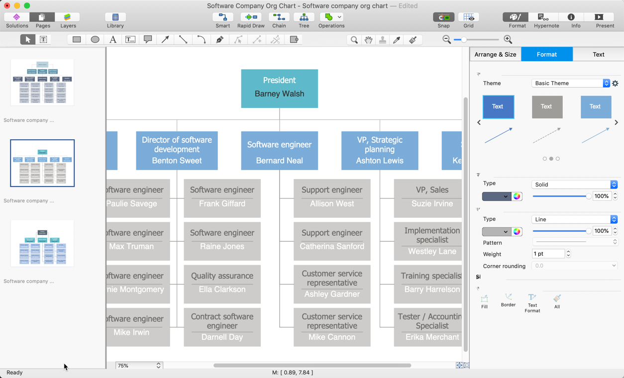 how to add an additional page to a ConceptDraw DIAGRAM document