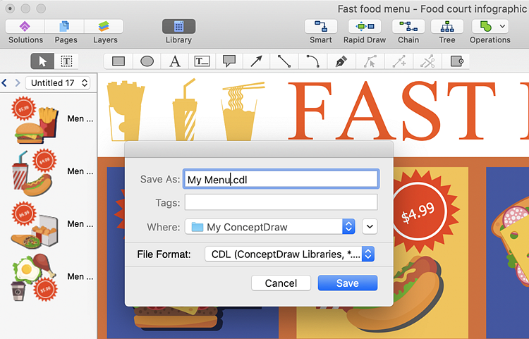 Save-New-Library-ConceptDraw