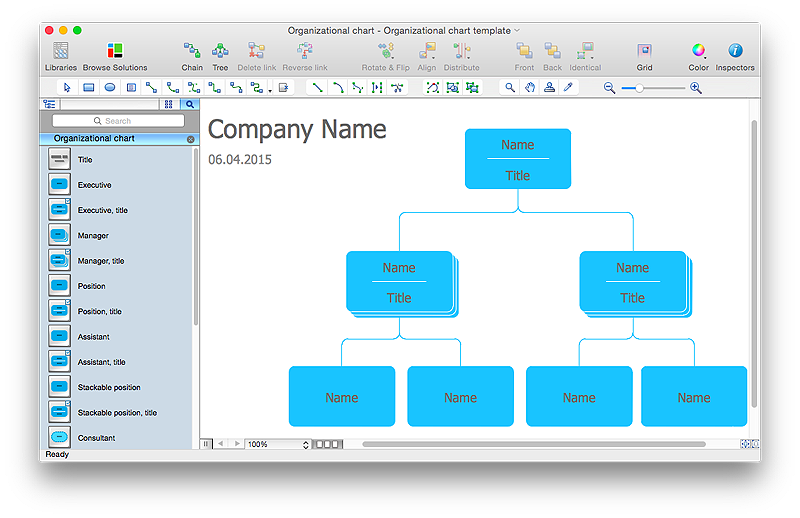 Create an Organizational Chart | ConceptDraw HelpDesk