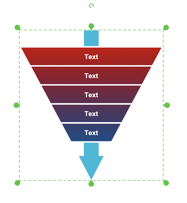 funnel pyramid diagram examples
