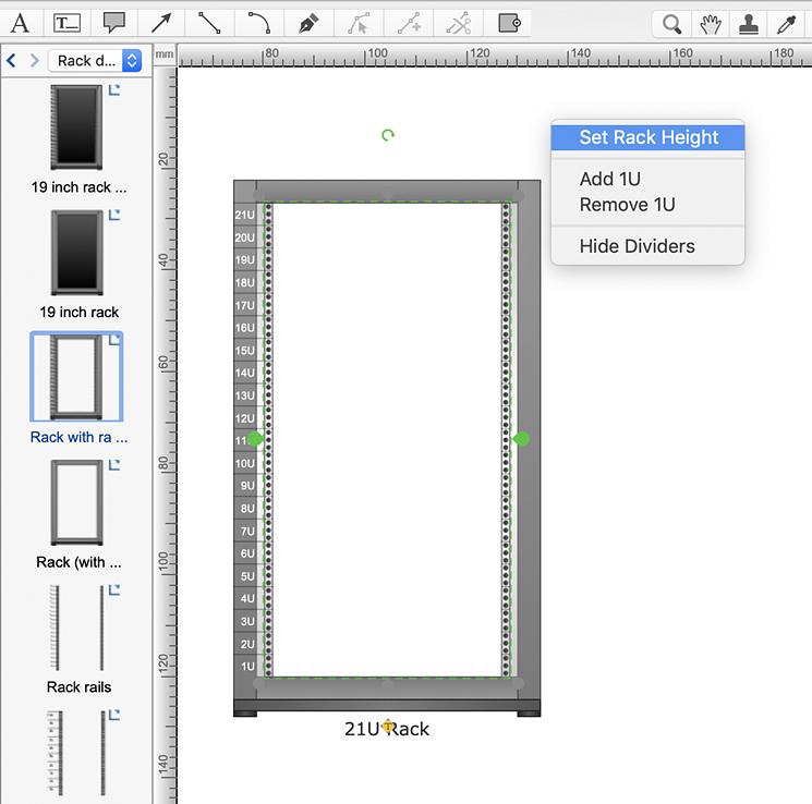 Rack Diagram Presentation