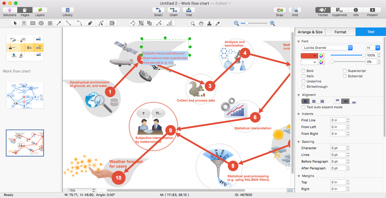 Create powerpoint presentation with a workflow diagram conceptdraw powerpoint conceptdraw workflow diagram ccuart