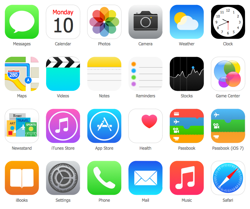 Image gallery iphone icons for Iphone picture apps free