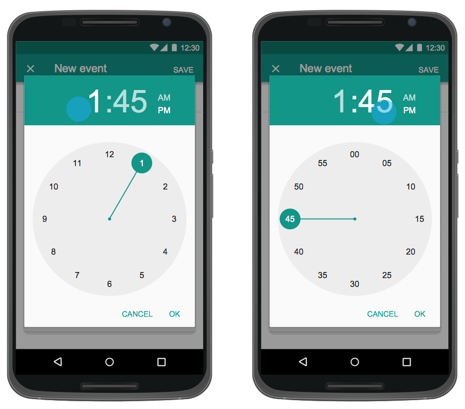 Android App GUI Mock-up
