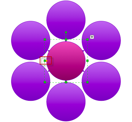 conceptdraw circle spoke diagram object