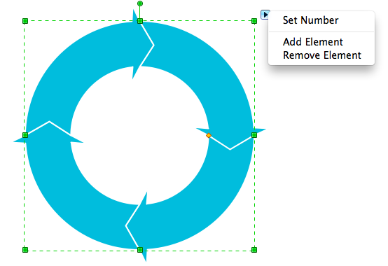 create circular arrows diagram