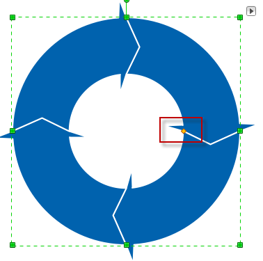 make circular arrows diagram