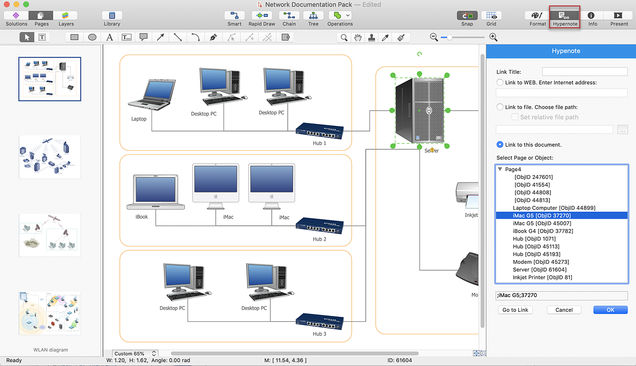 creating a computer network diagram