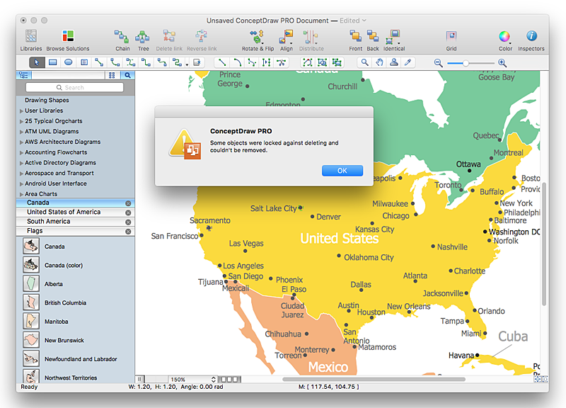 Creating Geographical Maps ConceptDraw HelpDesk
