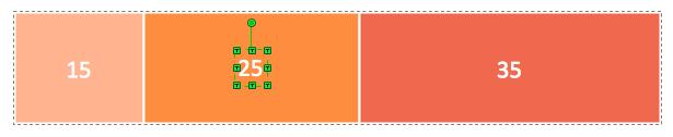 divided bar chart segment