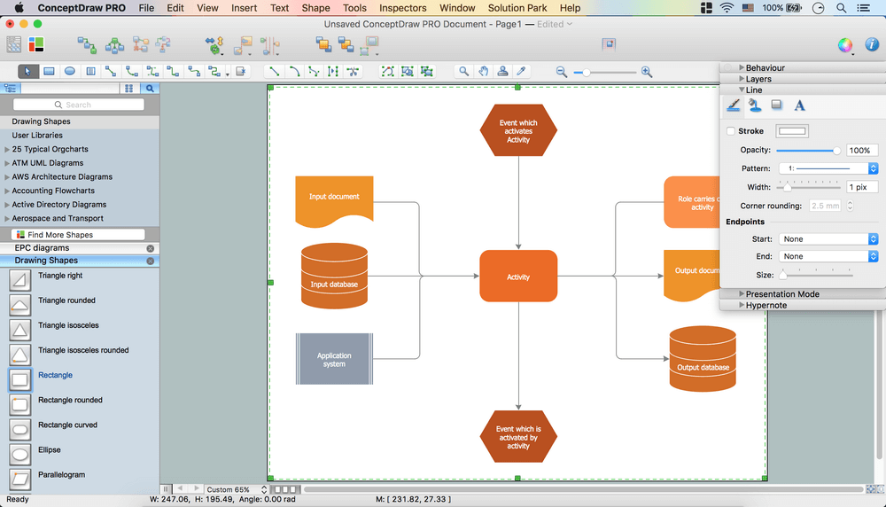 Creating EPC Diagram