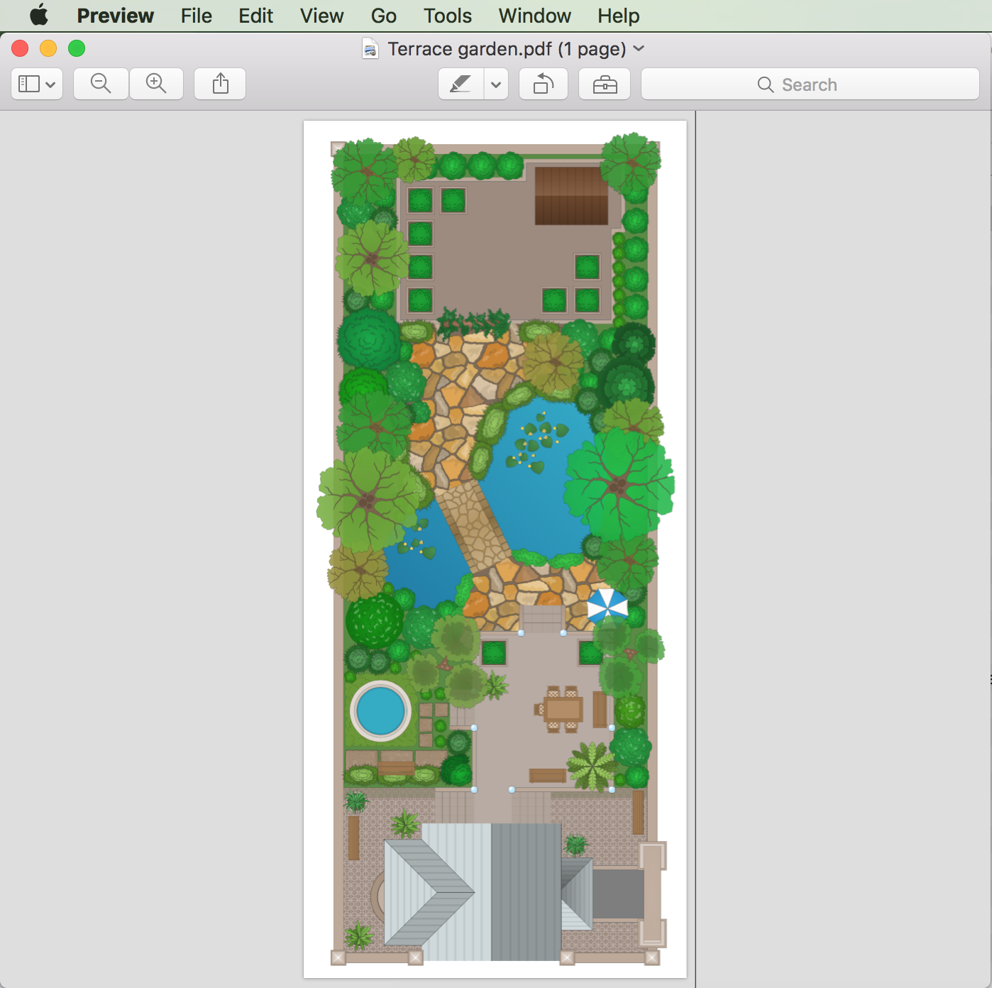 How to draw a landscape design plan for Landscape design guide