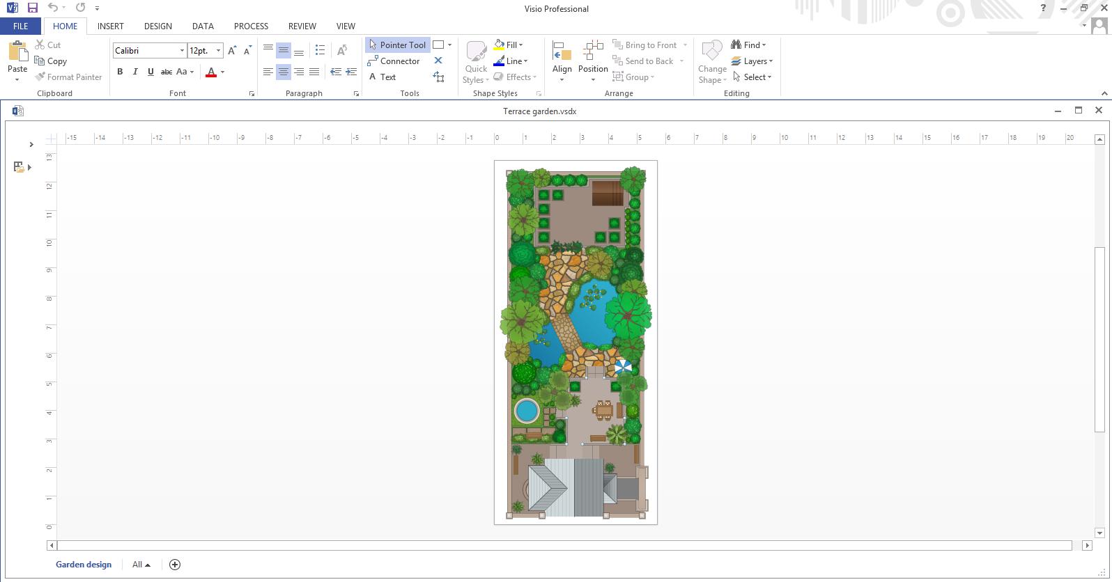 Exporting Landscape Design Plan