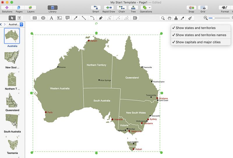 Australia-maps
