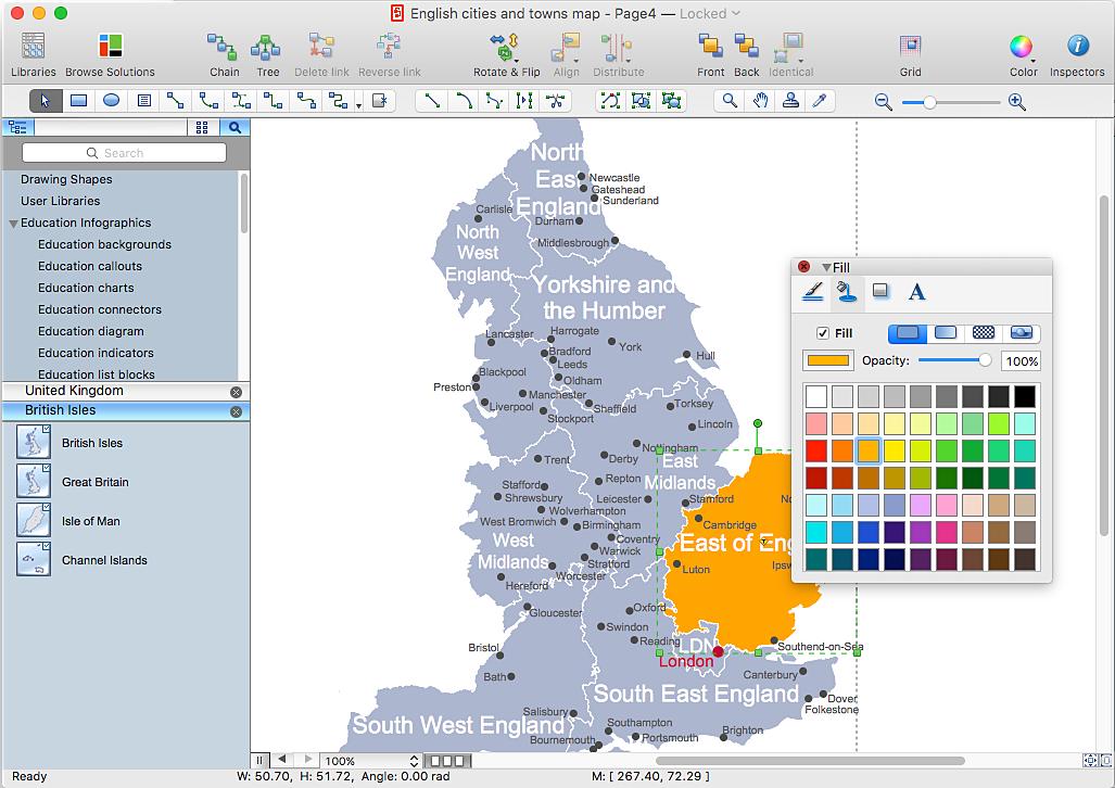 UK regional maps
