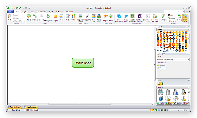 conceptdraw-mindmap-windows-main-idea