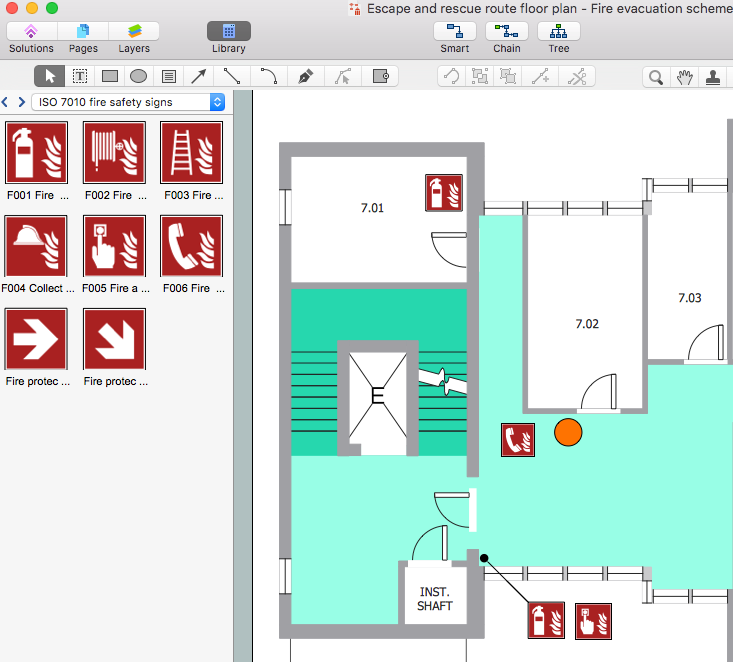 Creating An Emergency Plan For Office Conceptdraw Helpdesk