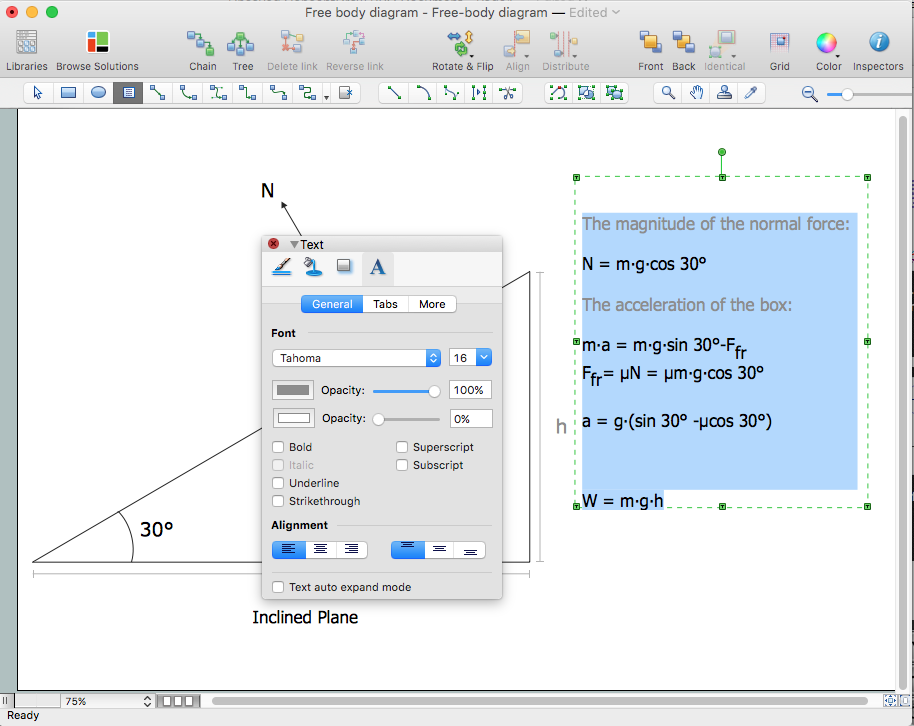 Drawing Physics illustrations | ConceptDraw HelpDesk