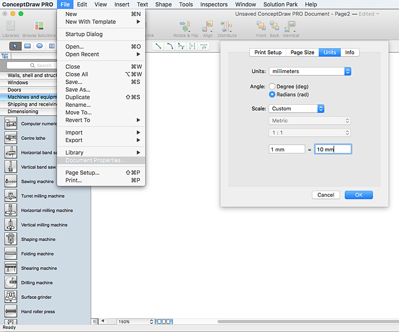 how to use mac page layout