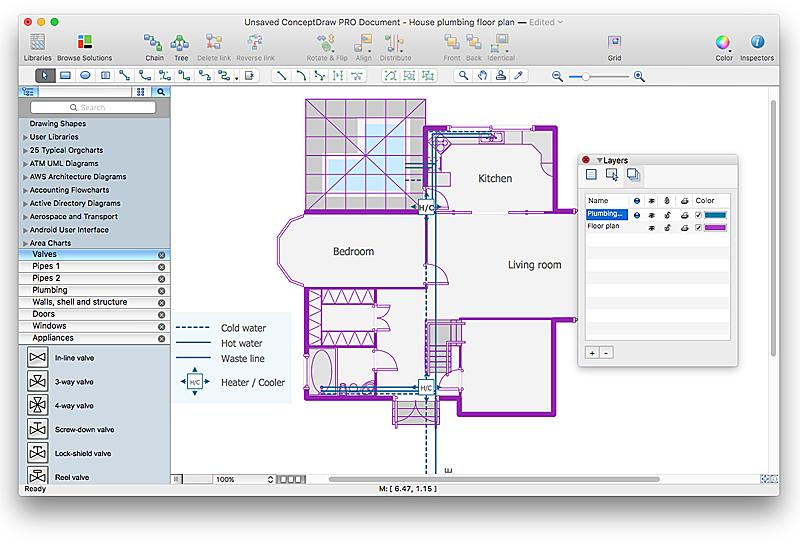 plumbing-floor-plan