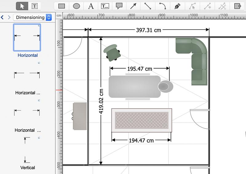 Creating a SPA floor plan | ConceptDraw