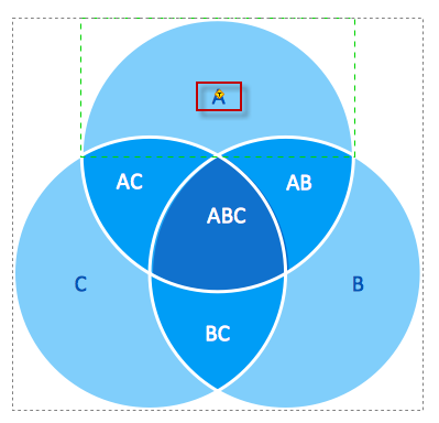 creating a venn diagram   conceptdraw helpdeskcreate venn diagram