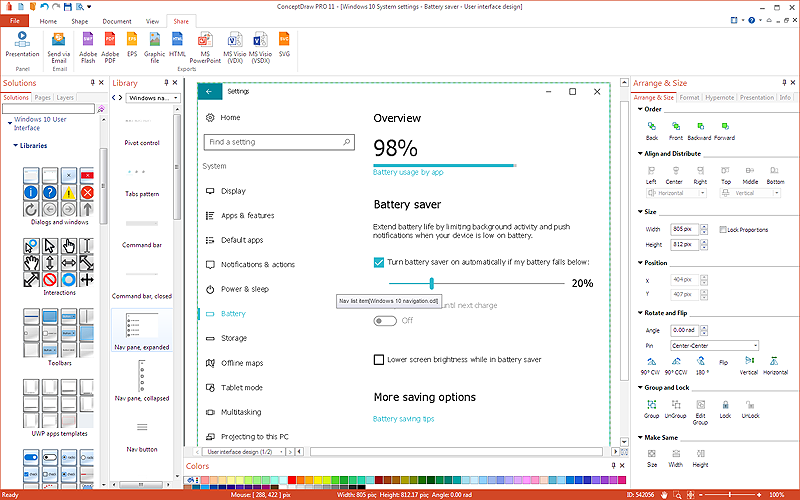 How to Design a Mockup of Windows 10 User Interface