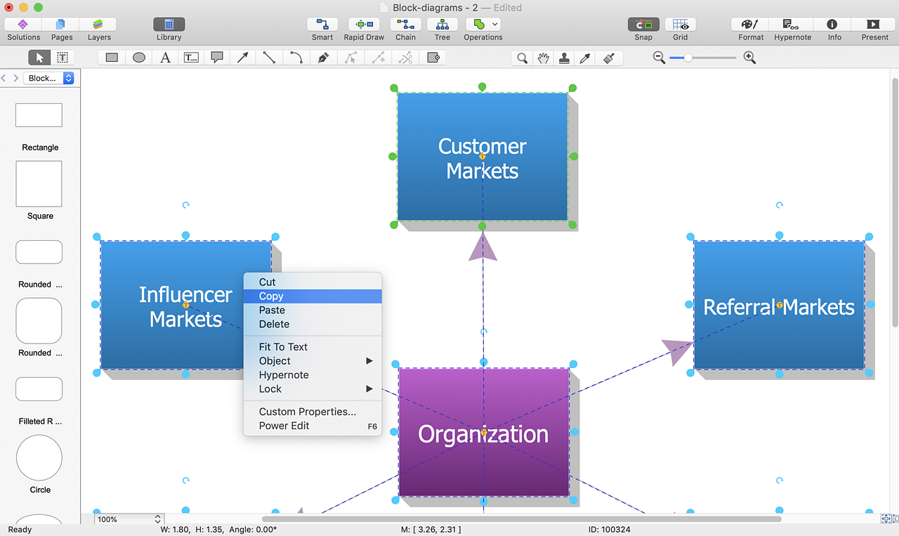 Add A Block Diagram To An Ms Word Document