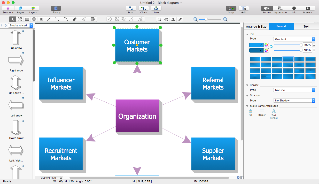 Add a block diagram to a ms word document conceptdraw helpdesk conceptdraw block diagram ccuart Images