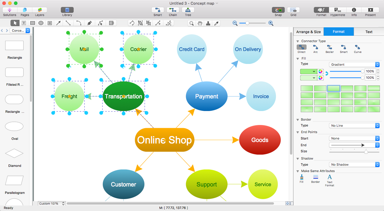 Concept Mapping Ms Word