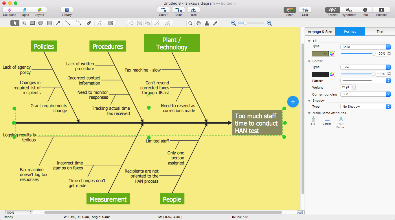 Add a Fishbone Diagram to MS Word | ConceptDraw HelpDesk