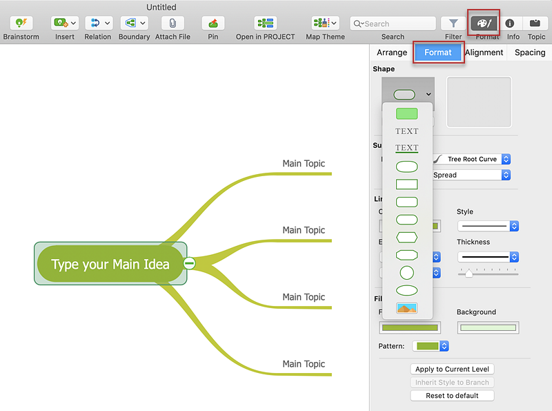 format-mind-map-mac