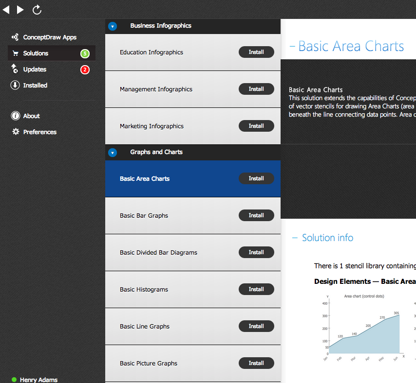 Download free ConceptDraw solution