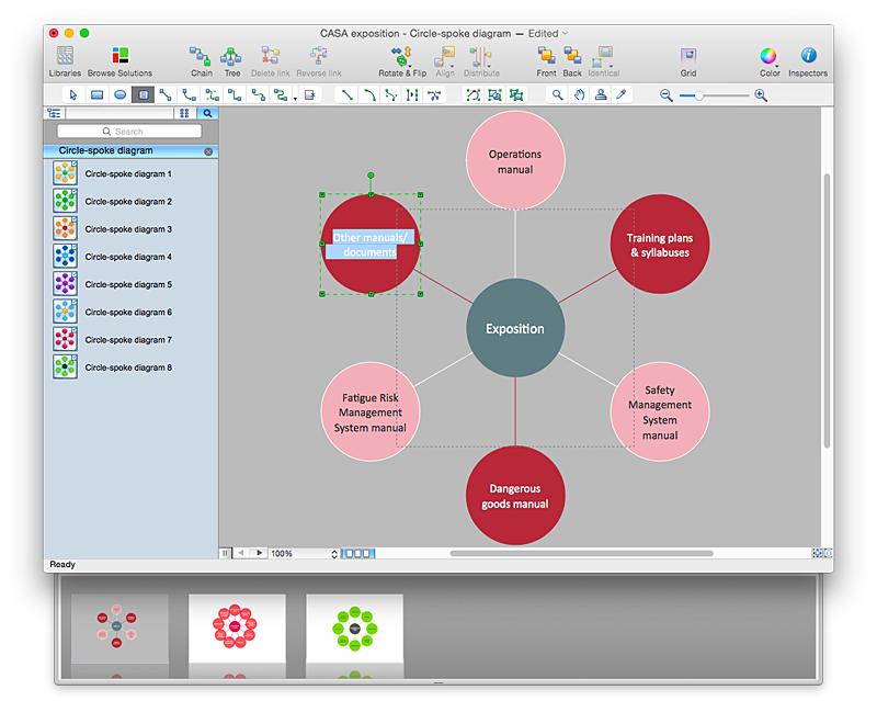 Circle-Spoke Diagram PowerPoint