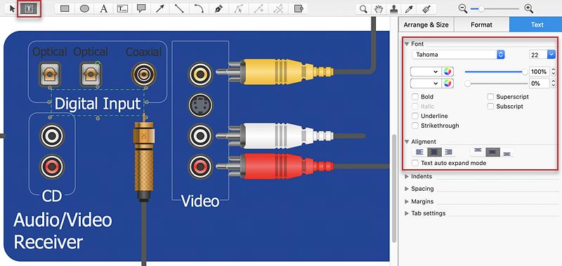 hook up diagram creation