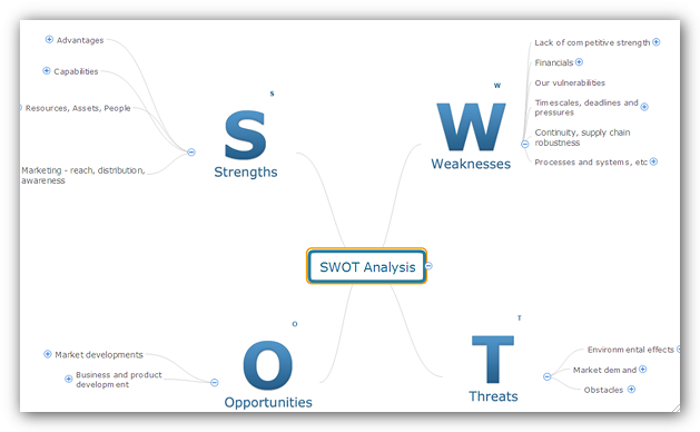 Swot analysis document