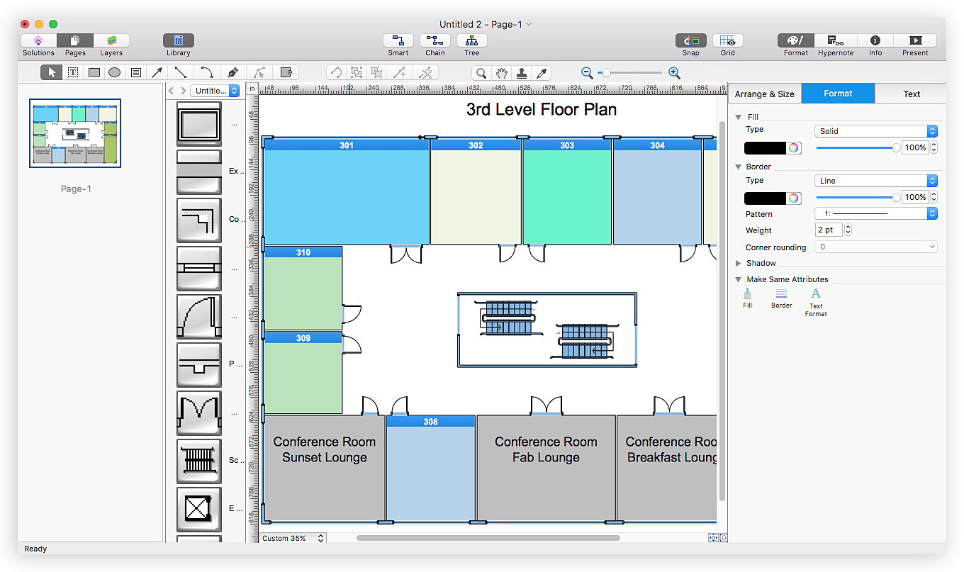 How To Open Visio Vdx File Using Conceptdraw Pro Ms Compatibility With