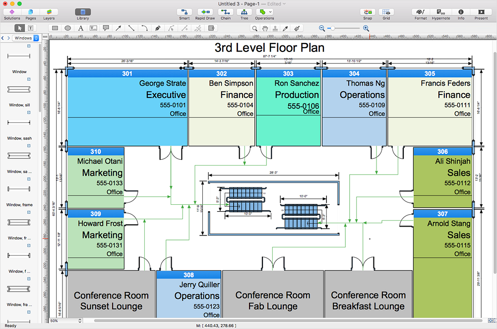Open Visio XML (VDX) on Macintosh and PC | ConceptDraw HelpDesk