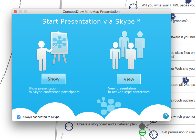present-project-via-skype