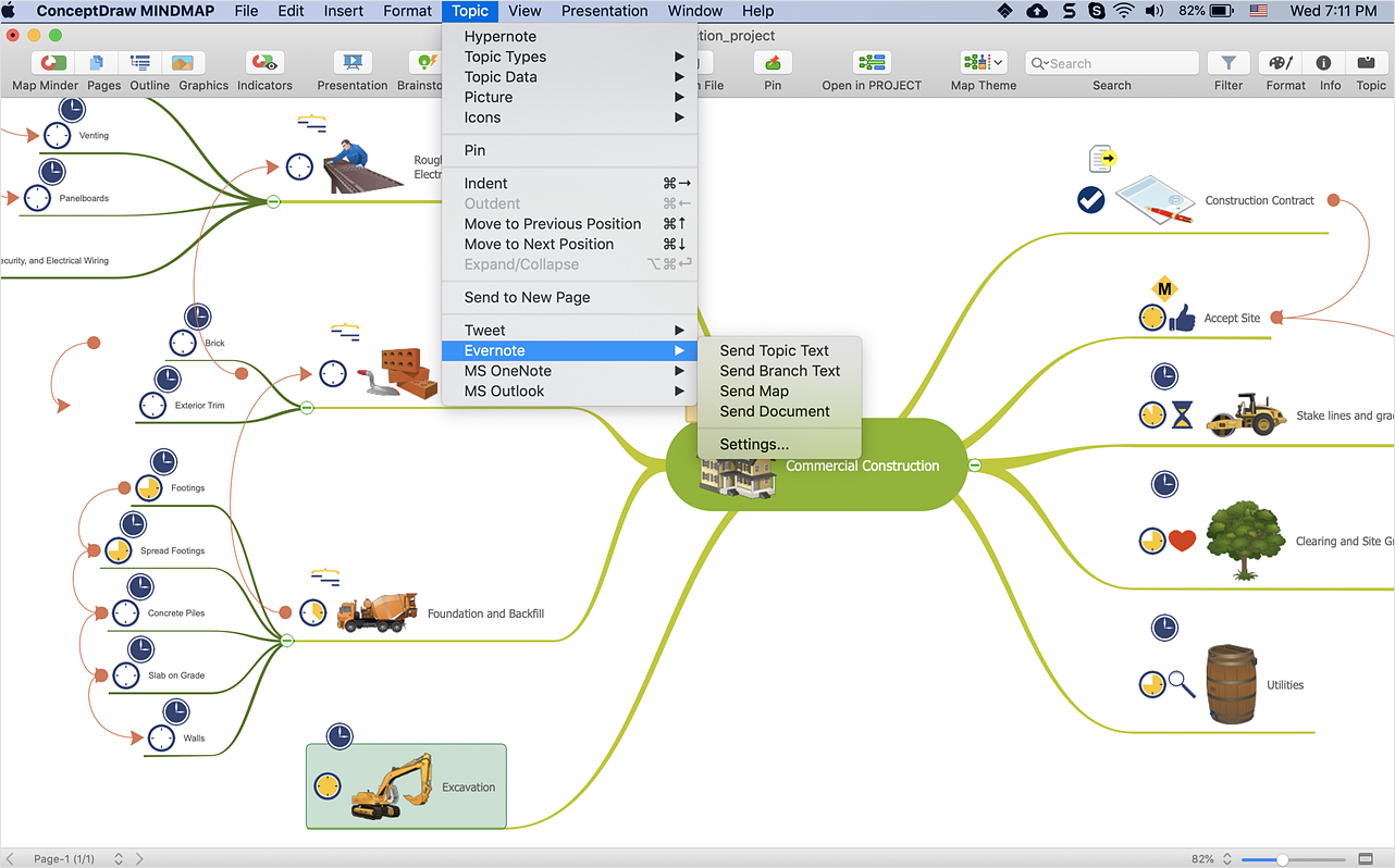 How to Get Started with ConceptDraw Solution for Evernote