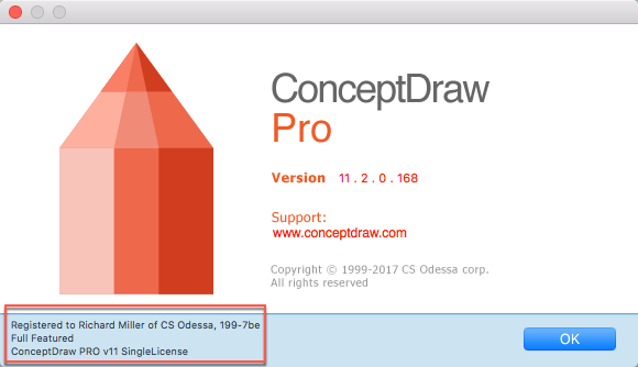 Install ConceptDraw PRO on Mac