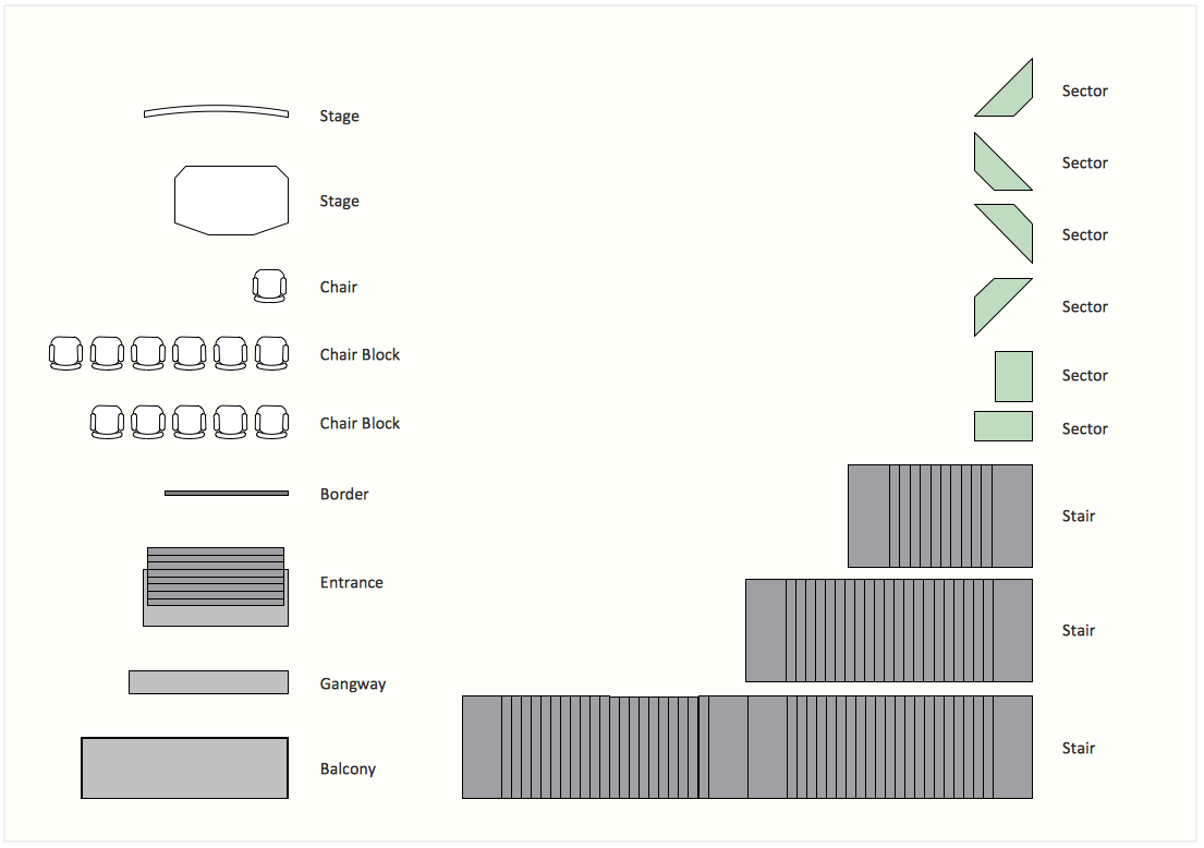 Interior Design Software. Design Elements U2014 Seating Plan
