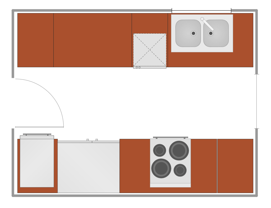Kitchen design sample