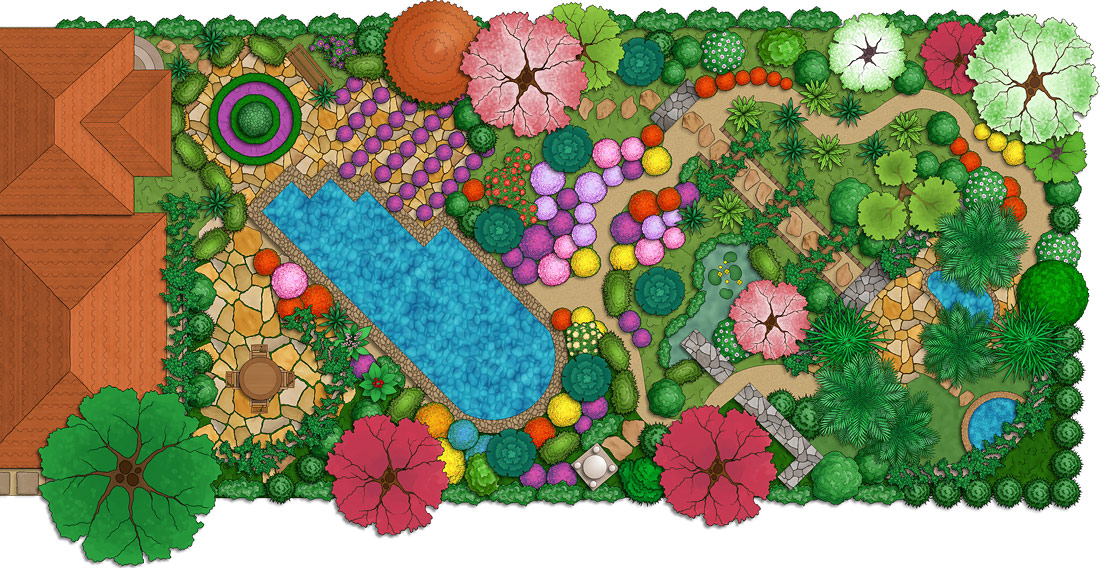 landscape design sample 4 exceptional 3d garden design software