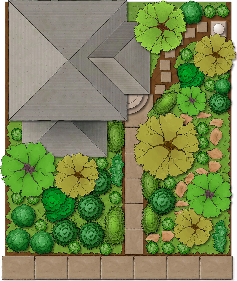 Landscape simple download free landscape design program for Garden design application