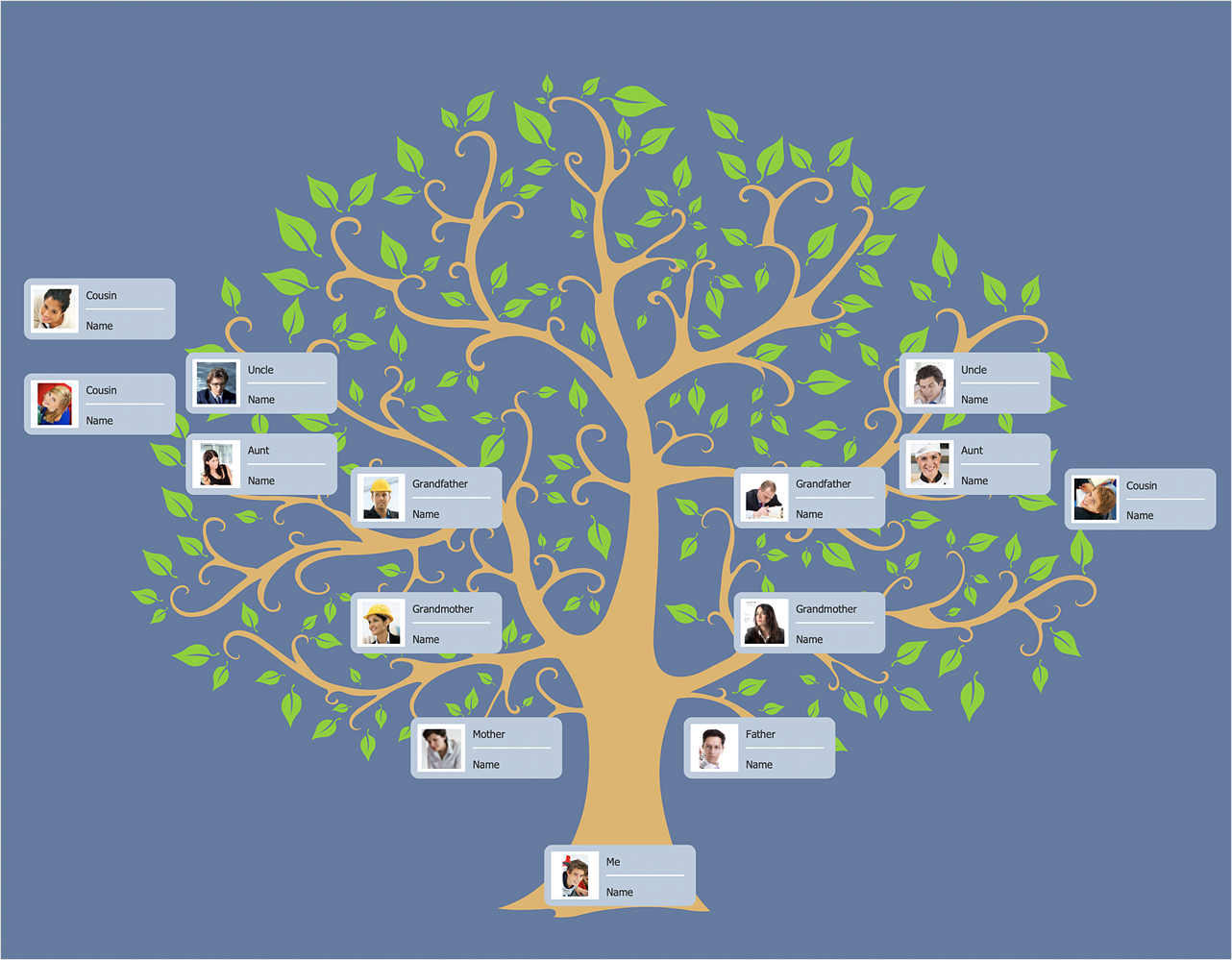 How to Draw a Family Tree