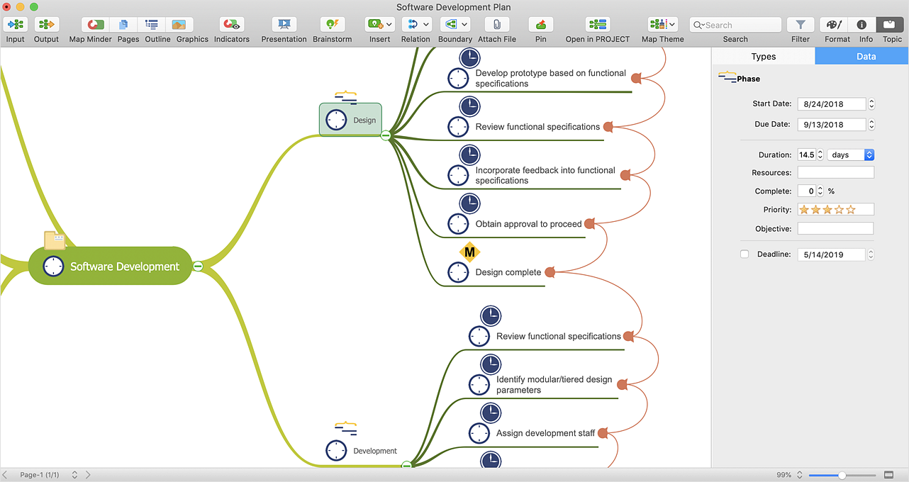 How to Import  MS Project File to a Mind Map